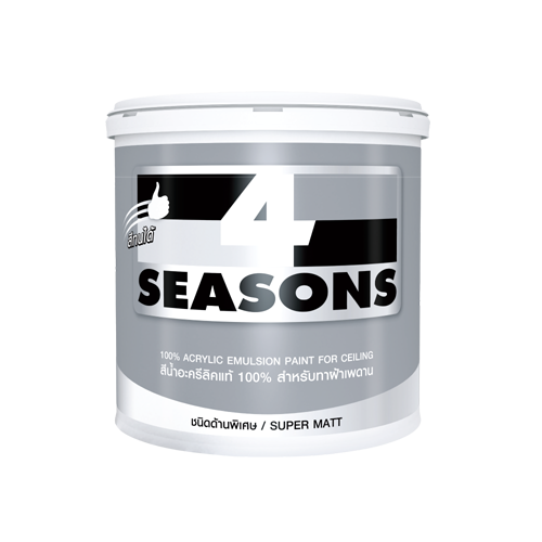 4 SEASONS Acrylic Emulsion for Ceiling