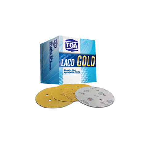 TOA LACD-GOLD Sanding Disc (6 inches 6 holds)