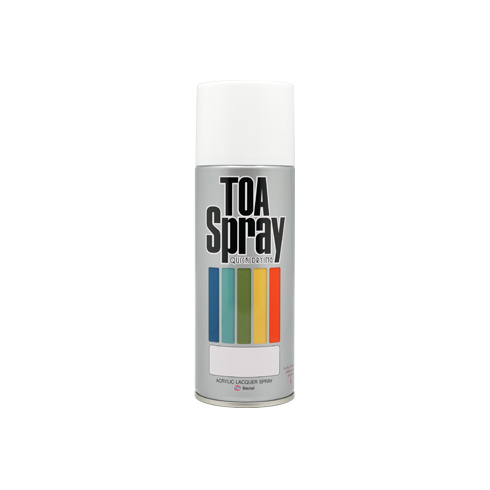 TOA Flat White Primer Spray No.61